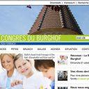 Webdesign und Kampagne   www.congres-burghof.com