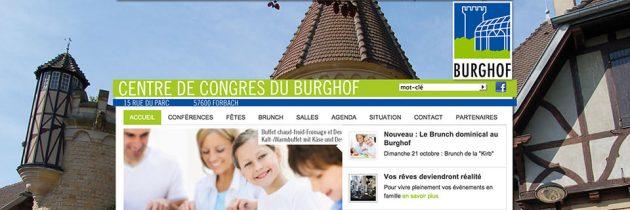 Webdesign und Kampagne | www.congres-burghof.com