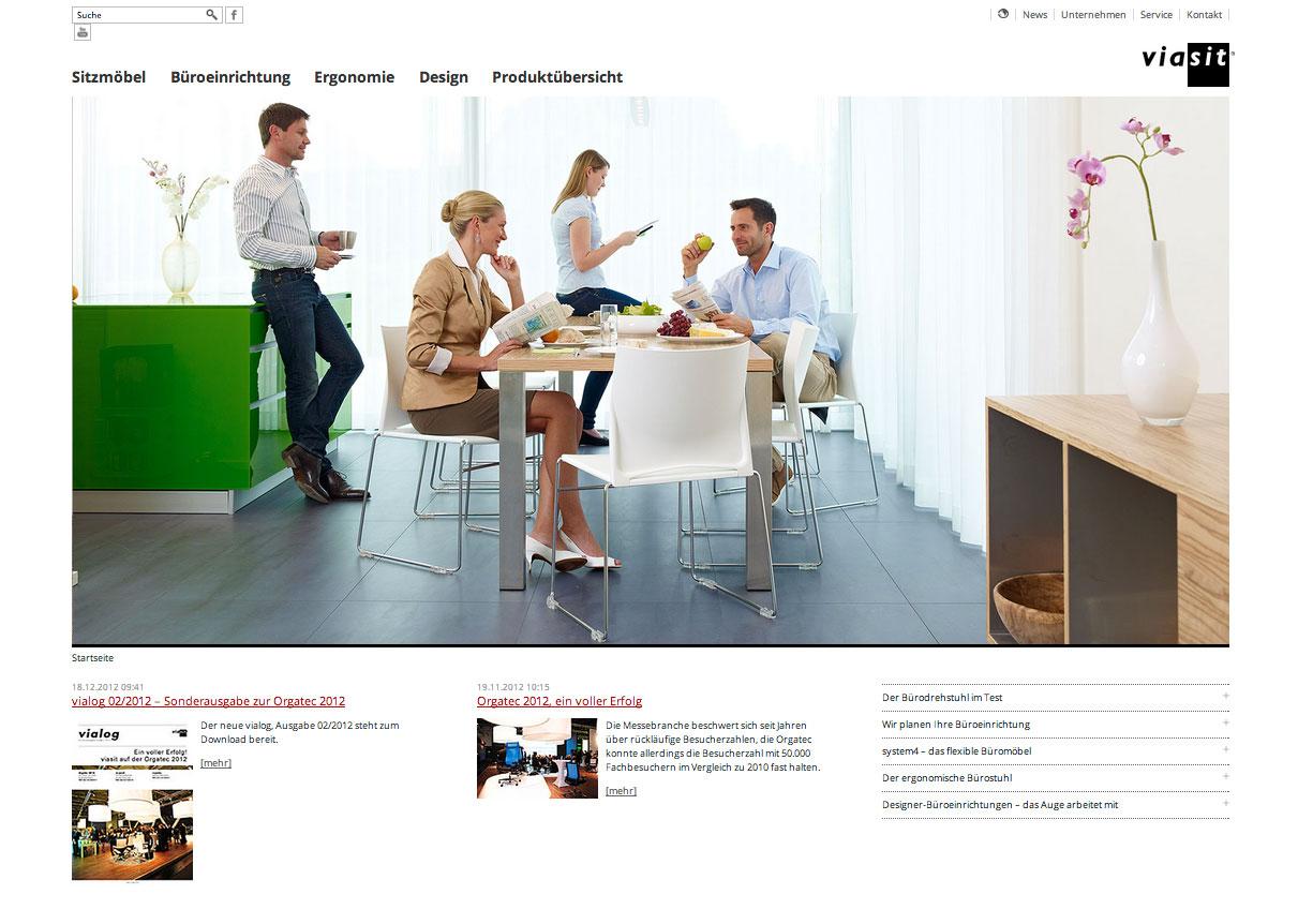 Webdesign viasit.com