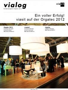 Titelseite Kundenzeitung vialog
